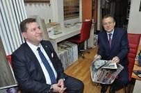 BALıKESIR BELEDIYESI - Başkan Uğur'dan Ters Dalan Ördek Benzetmesi