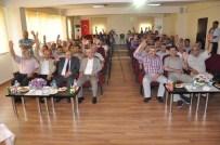 GÜMÜŞÇÜ - Dsispor'da Yeni Başkan Bölge Müdürü Algın Oldu