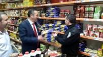 MHP'li Yavuz Aydın Düzköy'de Esnafı Gezdi