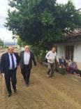 Taşköprü Belediyesi, Gökırmak Mahallesi'nde Parke Tretuar Çalışmasına Başladı
