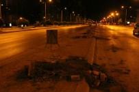 CAHAR DUDAYEV - Tramvay Hattı İçin Yüzlerce Ağaç Kesildi
