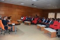 Afyonkarahisar'da Kamu Sağlık Kuruluşlarının Temsilcileri Bir Araya Geldi