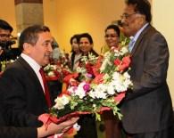 LİBYA BÜYÜKELÇİSİ - Arap Ülkelerinin Büyükelçileri Yatırım İçin Erzurum'da