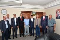 MAHMUT ŞAFAK - MHP Milletvekili Adayları Manavgat'ta Esnaf Temsilcileriyle Buluştu