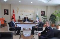 Emniyet Müdürü Şahne'den Başkan Samur'a Ziyaret