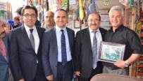 Başkan Gümrükçüoğlu Düzköy'e Çıkartma Yaptı