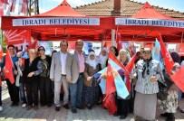 DÜĞMELİ EVLER - CHP Adayı Budak, İbradı'da Onay İstedi