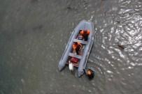 Çorun Nehri'ne Düşen İşçi Kayboldu