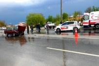ALI ERDOĞAN - Kahramanmaraş'ta Trafik Kazası Açıklaması 4 Yaralı