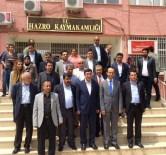 ALI İHSAN MERDANOĞLU - Kalkınma Bakanı Yılmaz, Hazro İlçesini Ziyaret Etti