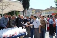 KOZCAĞıZ - Belediye Kozcağız'da Kandil Simidi Dağıttı