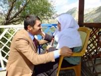SERDARLı - MHP'li Arslan Durmak Bilmiyor