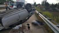 KAYADÜZÜ - Amasya'da Trafik Kazası Açıklaması 2 Ölü, 2 Yaralı