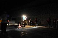 Isparta'da Otomobil Devrildi Açıklaması 1 Ölü, 2 Yaralı