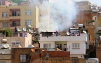 Mardin'de Ev Yangını