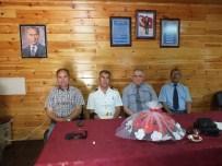 DENIZ KıDEMLI - Garnizon Komutanı Albay ERDEMİR'den Şehit Aileleri Ve Gaziler Derneğine Ziyaret