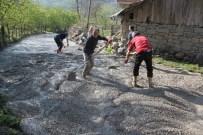 Kumru'da 1 Yılda 10 Km Beton Yol