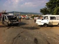 Tekirdağ'da Trafik Kazası Açıklaması 4 Yaralı