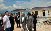 Başkan Mustafa Koca Galericiler Sitesi'ndeki Çalışmaları İnceledi