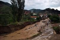 Bilecik'te Sel Hasara Yol Açtı