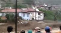 Tozman Köyündeki Sel Felaketi Amatör Kamerada
