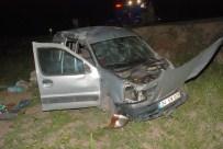 Erzincan'da Trafik Kazası Açıklaması 1 Ölü, 5 Yaralı