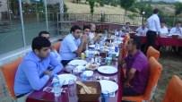 MEHMET MARAŞLı - Kulp'ta, Tayini Çıkan Hakim Ve Savcılara Veda Yemeği