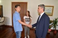 Bolu'da TEOG Sınavında İlk Üçe Giren Öğrenciler Ödüllendirildi