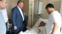 Milletvekili Tokmak, Kazazedeyi Ziyaret Etti