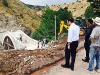 Tarihi Şadyan Köprüsü'nün Restorasyonu Bitmek Üzere