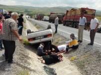 Yozgat'ta 2 Ayrı Trafik Kazası Açıklaması 9 Yaralı