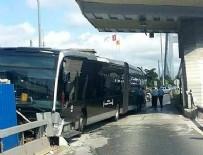 KEMAL ÖZER - Boğaziçi Köprüsü'nde Metrobüs Kazası