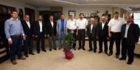 DOĞAN EROL - Başkan Karaosmanoğlu Minibüsçüleri Ağırladı