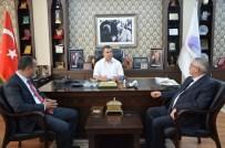 FERIDUN TANKUT - Karabükspor Başkan Adayı Destek Turlarında