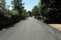 ALIFUATPAŞA - Kaynarca'nın Grup Yollarına Sıcak Asfalt