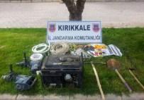Kırıkkale'de Kaçak Kazı İddiası