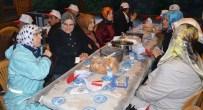 Çaykara'da Yüzlerce Kişi Bir Arada Oruç Açtı