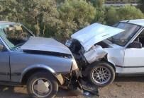 Derebucak'ta Trafik Kazası Açıklaması 4 Yaralı