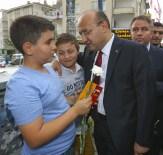 Başbakan Yardımcısı Akdoğan, 'Sevgi Yürüyüşü'ne Katıldı