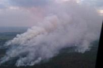 ÇERNOBİL NÜKLEER SANTRALİ - Ukrayna'da Orman Yangını