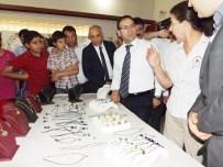 İSMAİL ŞANLI - Halk Eğitim Merkezi'nde Yılsonu Sergisi Açıldı