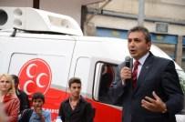 Emin Çınar, Araç, Taşköprü Ve Çatalzeytin'de Mitinge Katıldı