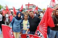 İNTİBAK YASASI - CHP Bilecik İl Başkanlığı Tarafından Osmaneli'de Son Miting Düzenlendi