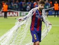 SHAKİRA - Pique, Shakira  için ağları kesti