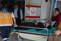 MUSTAFA TOPÇU - Ordu'da Minibüsle Otomobil Çarpıştı Açıklaması 5 Yaralı