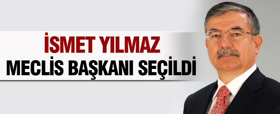 AK Parti aday� Y�lmaz Meclis Ba�kan� se�ildi
