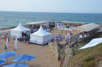 VOLEYBOL FEDERASYONU - Sinop'ta Plaj Voleybolu Turnuvası Başladı