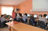 Bahşılı'da Engellilere İçin Bilgisayar Kursu Açıldı