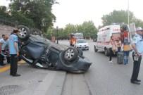 GÜLŞAH AKTÜRK - Başkent'te Trafik Kazası Açıklaması 2 Yaralı