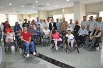 BALıKESIR BELEDIYESI - Büyükşehir'den Engellilere 16 Tekerlekli Sandalye